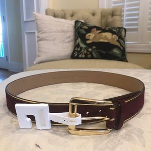 NWT Michael Kors leather/suede belt, large